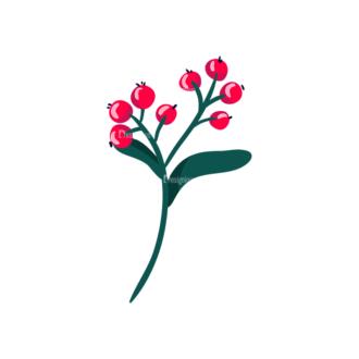Berries Red Currant 13 Clip Art - SVG & PNG vector