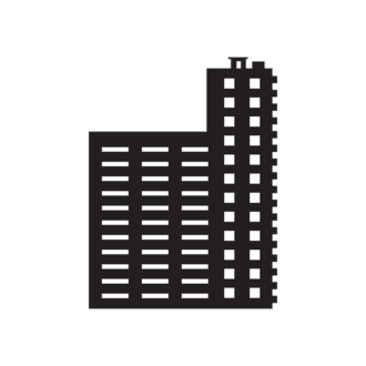 Buildings Vector 1 6 Clip Art - SVG & PNG vector