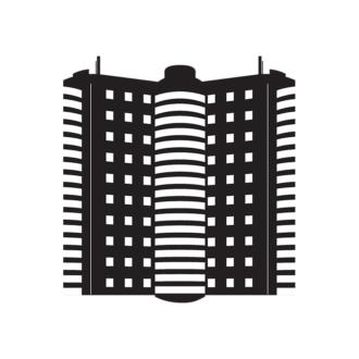 Buildings Vector 1 7 Clip Art - SVG & PNG vector