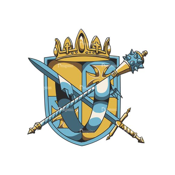 Crests Vector 1 4 5