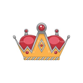 Crowns Vector 2 2 Clip Art - SVG & PNG vector