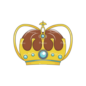Crowns Vector 2 3 Clip Art - SVG & PNG vector