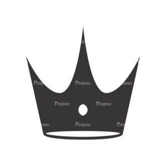 Crowns Vector 5 1 Clip Art - SVG & PNG vector
