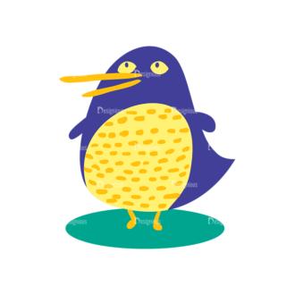 Decorative Birds Bird 17 Clip Art - SVG & PNG vector