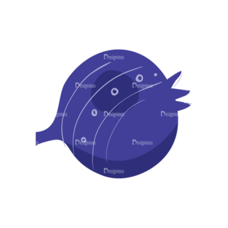 Decorative Birds Flower Bulb Clip Art - SVG & PNG vector