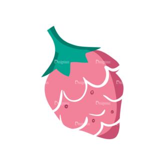 Decorative Birds Raspberry 11 Clip Art - SVG & PNG vector