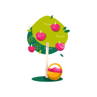 Decorative Trees 01 Clip Art - SVG & PNG vector