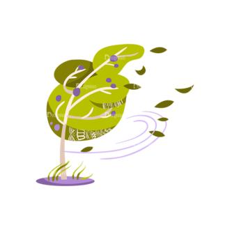 Decorative Trees 05 Clip Art - SVG & PNG vector