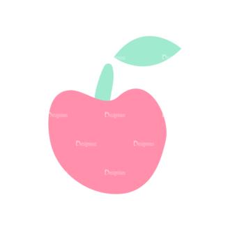 Decorative Trees Apple Clip Art - SVG & PNG vector