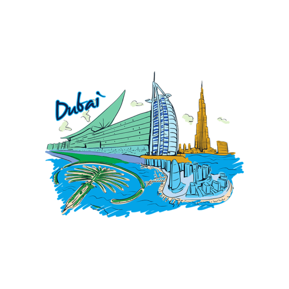 Famous Cities Vector 1 4 5