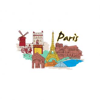 Famous Cities Vector 2 5 Clip Art - SVG & PNG vector
