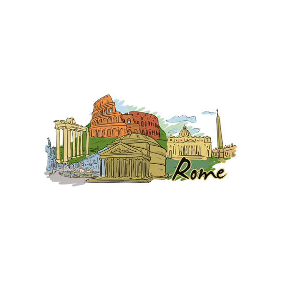 Famous Cities Vector 3 4 5