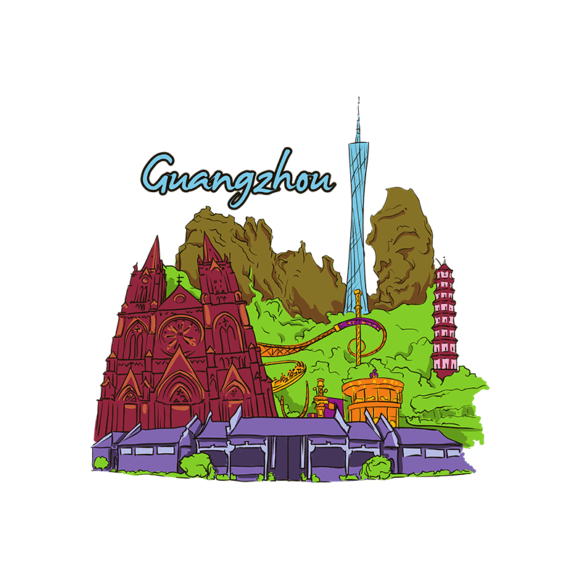 Famous Cities Vector 4 4 Famous Cities Vector 4 4 preview