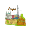 Famous Cities Vector 5 5 3
