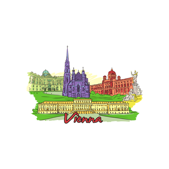 Famous Cities Vector 5 6 5