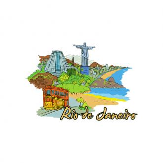 Famous Cities Vector 6 2 Clip Art - SVG & PNG vector