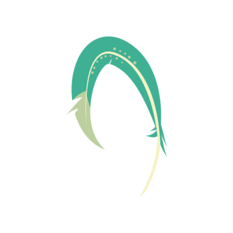 Feathers 1 08 Clip Art - SVG & PNG vector
