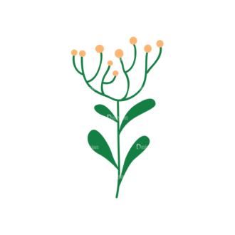 Floral Decorations 13 Clip Art - SVG & PNG floral