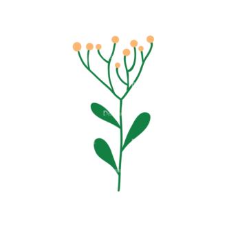 Floral Decorations 14 Clip Art - SVG & PNG floral