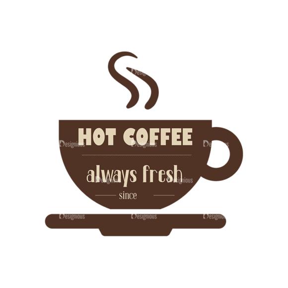 Coffee Badges 03 Food drinks Coffee Badges 03 preview