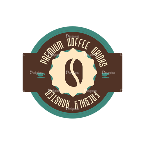 Coffee Badges 07 Food drinks Coffee Badges 07 preview