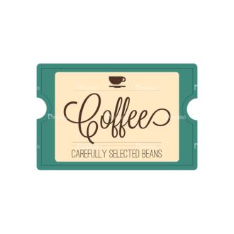 Coffee Badges 08 Clip Art - SVG & PNG vector