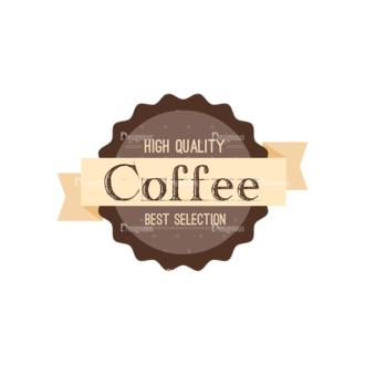 Coffee Badges 09 Clip Art - SVG & PNG vector