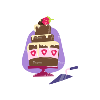 Desserts Chocolate Cake Clip Art - SVG & PNG vector