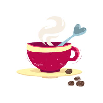 Drinks Cup Of Coffee Clip Art - SVG & PNG vector