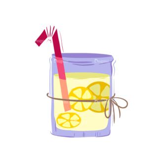 Drinks Fresh Limonade Clip Art - SVG & PNG vector