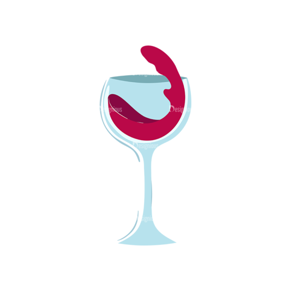 Drinks Glass Of Wine Clip Art - SVG & PNG glass