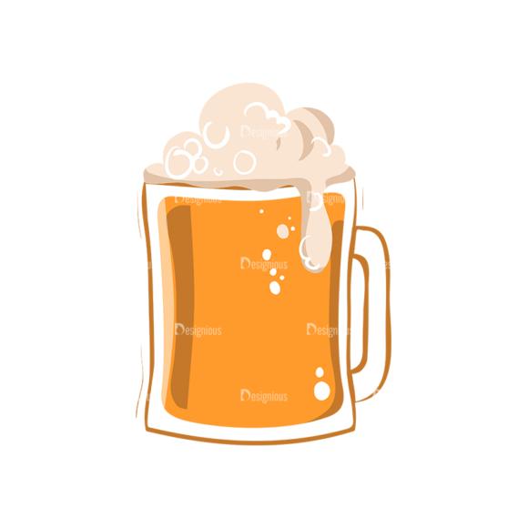 Drinks Mug With Beer 1