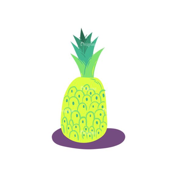 Exotic Fruits Ananas 1