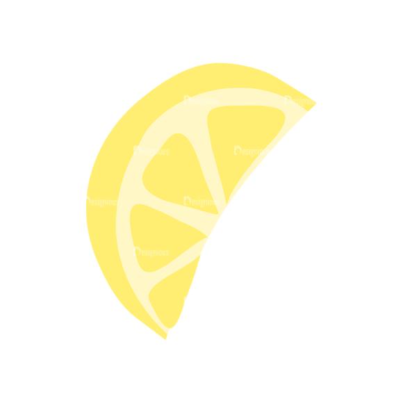 Exotic Fruits Lemon Slice 14 1