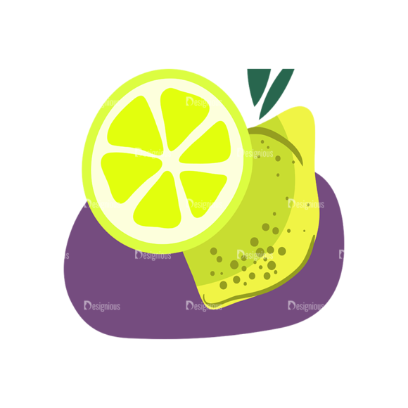 Exotic Fruits Lemon 1