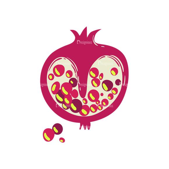 Exotic Fruits Pomegranate 1