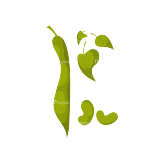 Farming Plants Beans Clip Art - SVG & PNG vector