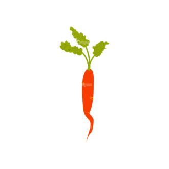 Farming Plants Carrot 02 Clip Art - SVG & PNG vector