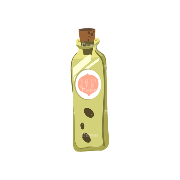 Herbs And Spices Olive Oil Bottle Food drinks Herbs And Spices Olive Oil Bottle preview