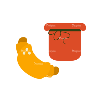 Breakfast Icons Vector Set 1 Vector Bread 03 Clip Art - SVG & PNG vector