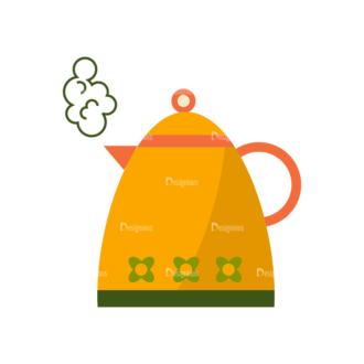 Breakfast Icons Vector Set 1 Vector Coffee Pot 08 Clip Art - SVG & PNG vector