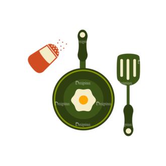 Breakfast Icons Vector Set 1 Vector Egg Clip Art - SVG & PNG vector