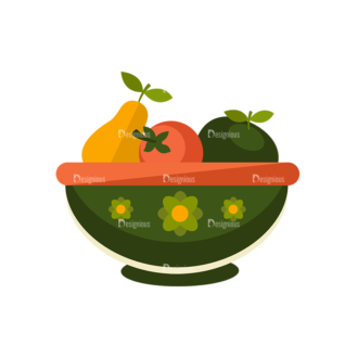 Breakfast Icons Vector Set 1 Vector Fruits Clip Art - SVG & PNG vector