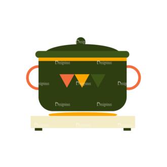 Breakfast Icons Vector Set 1 Vector Pot Clip Art - SVG & PNG vector