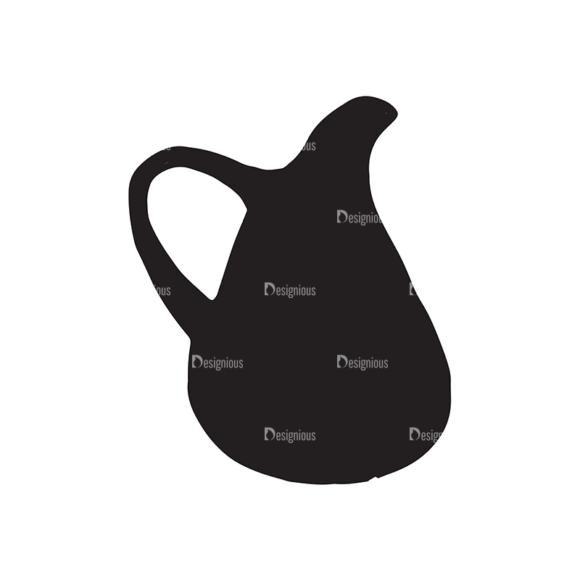 Coffee Elements Set 1 Vector Small Pitcher 05 Food drinks coffee elements set 1 vector small pitcher 05