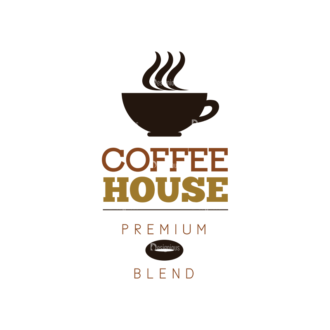 Coffee Labels And Badges Vector Set Vector Coffee House Clip Art - SVG & PNG vector