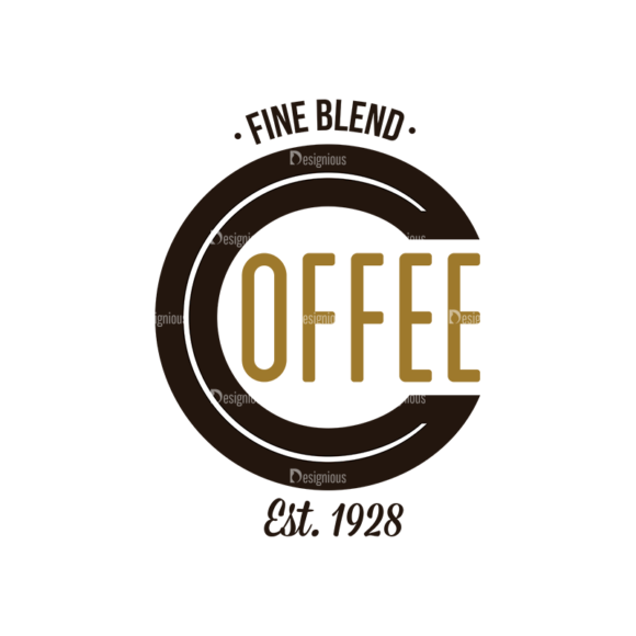 Coffee Labels And Badges Vector Set Vector Fine Blend 5