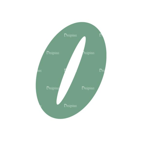 Coffee Typographic Elements Vector Coffee Bean 5