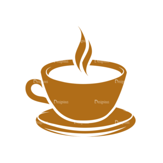 Coffee Typographic Elements Vector Coffee Clip Art - SVG & PNG vector