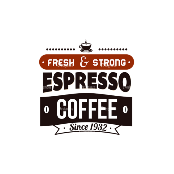 Coffee Typographic Elements Vector Text 05 Food drinks coffee typographic elements vector text 05